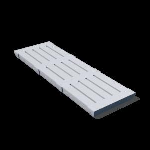 Бетонная щелевая плита 500х1500х70 мм