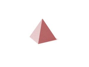 Пирамидка к Пагоде красная